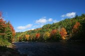 LaHave River in autumn